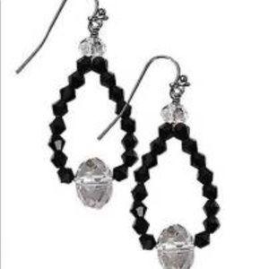 🔥 GUC Park Lane Black Luxedo Earrings